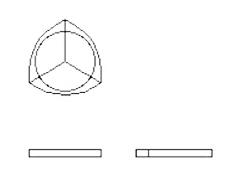 3 piece wood図